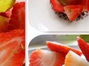 Tartelettes mousse mascarpone/ citron vert/ fraises