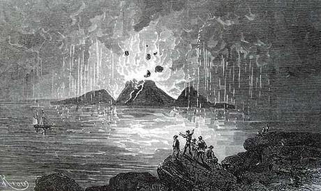 L'un des plus vieux rapport météorologique du monde ! Théra, le Santorin d'aujourd'hui et l'Égypte antique !