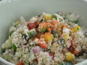 Salade quinoa petits légumes