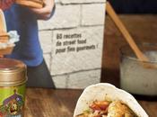 Fajitas poulet Tandoori, concours blog-anniversaire Panier Saison: jour