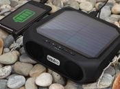 Rugged Rukus, l'enceinte Bluetooth étanche fonctionnant l'énergie solaire