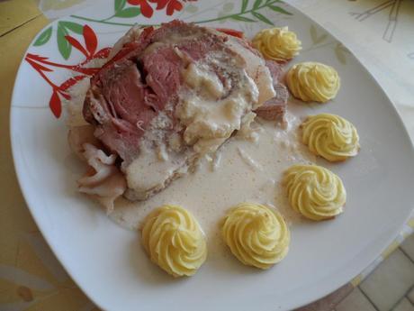 R ti de veau orloff et pomme duchesse voir - Cuisiner un roti de veau ...