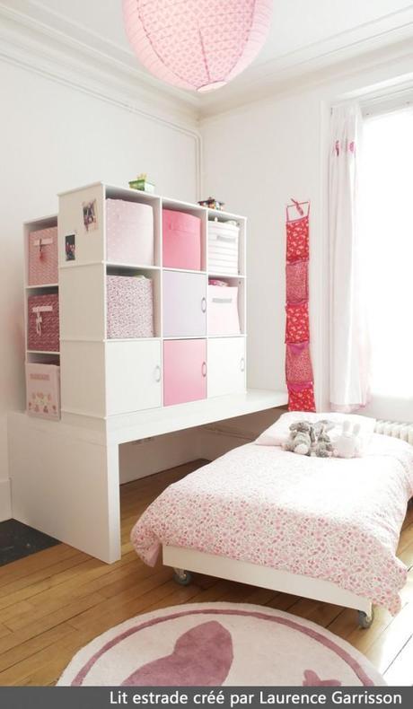 cr ation lit estrade pour chambre d enfants paperblog. Black Bedroom Furniture Sets. Home Design Ideas