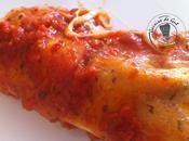 Cannelloni sauce roquette tomate