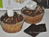 Cupcake citron chocolat noir gingembre.