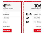 Forfait 10€/mois pendant