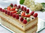Gâteau fêtes mères tiramisu framboises