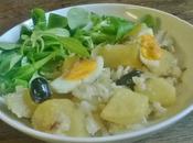 Bacalhau gomes sà...Morue Pommes Terre, Huile d'olive Oignons