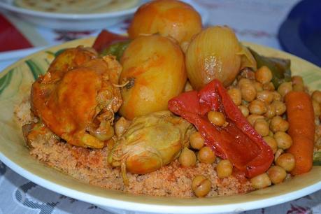 Idee recette couscous marocain poulet paperblog - Idee recette cuisse de poulet ...