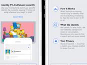 Fonctionnalité Facebook Quand prend pour Shazam