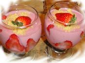 Mousse fraises ricotta