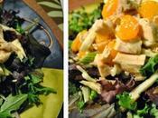 Salade clémentines, fenouil poulet rôti