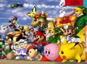 Super Smash Bros. perso. confirmés jour absents.