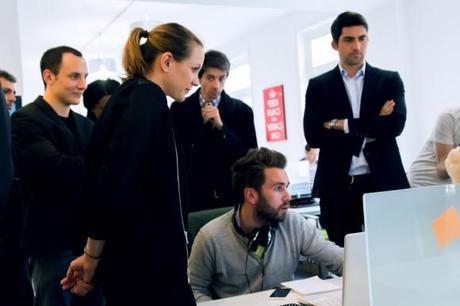 Axelle Lemaire rend visite à Creads