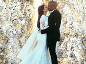 photos mariage Kanye West Kardashian dévoilées...