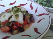 Limandes pesto persil légumes soleil