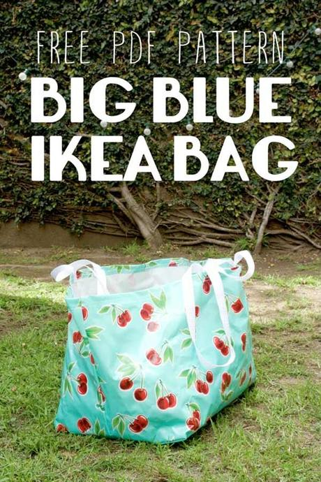 diy le gros sac bleu d ikea paperblog. Black Bedroom Furniture Sets. Home Design Ideas