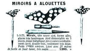 Le miroir aux alouettes voir for Miroir aux alouettes