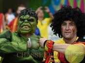 looks supporters, Coupe Monde 2014