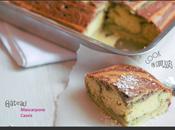 Gâteau Mascarpone Cassis