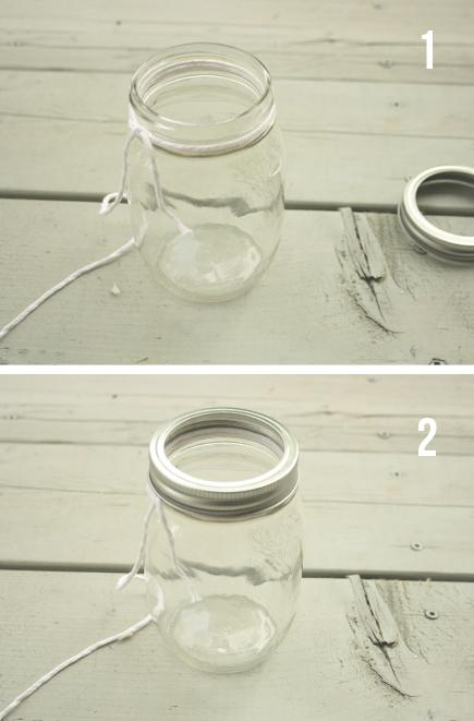 diy petits pots de fleurs suspendus pour la terrasse. Black Bedroom Furniture Sets. Home Design Ideas