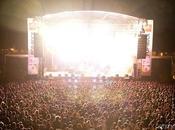 Reportage photo Fête musique lumière avec concert RTL2 Rock spectacles