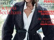 Victoria Beckham, star prochain numéro Vogue mois d'Août...