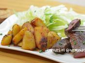 Bœuf grillé Patatas Bravas.