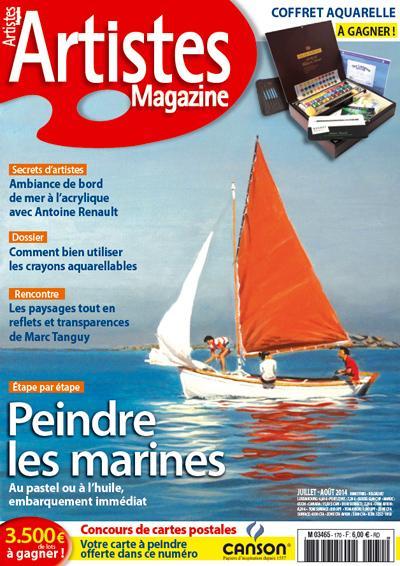 Artistes magazine juillet 2014