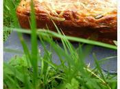 Cake courgette, jambon camembert