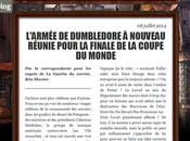 Harry Potter retour dans petite nouvelle J.K. Rowling