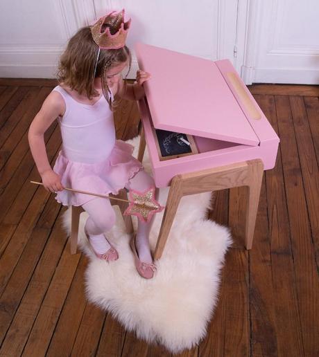 my little pupitre bureau pour enfant par jungle by jungle paperblog. Black Bedroom Furniture Sets. Home Design Ideas