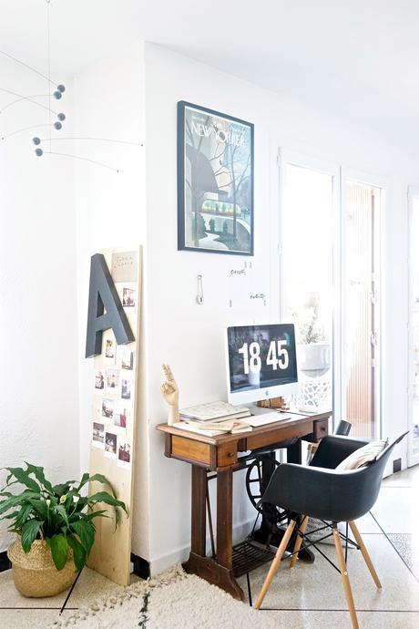 // Mon coin bureau et des idées pour intégrer un espace de travail ...