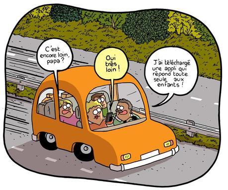trucs et astuces pour occuper les enfants pendant le voyage en voiture lire. Black Bedroom Furniture Sets. Home Design Ideas