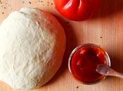 pizza pâte Jamie Oliver sauce tomates fraîches