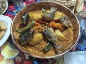 allait faire tour marché couscous marocain poissons