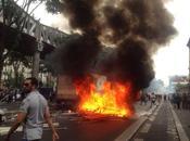 Vidéo débordements manif pro-Gaza