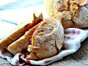 Gros pain, sans pétrissage levée