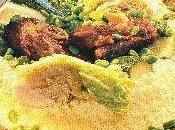 Recette Couscous marocain fèves, chou vert courgettes
