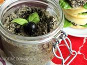 Tapenade olives noires miel