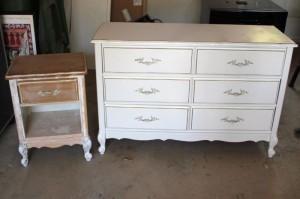 Retaper ses meubles avec la peinture la craie lire - Peinture a la craie pour meuble ...