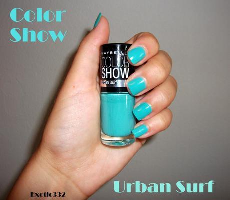 allons surfer avec color show - Vernis Color Show