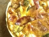 Quiche végétarienne Poivrons, Courgette, olives Curry