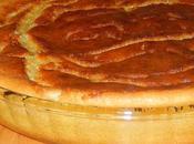 Clafoutis crème d'amandes abricots caramélisés