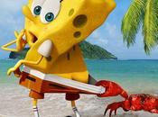 Cinéma l'éponge (The Spongebob Movie: Sponge Water), l'affiche bande annonce