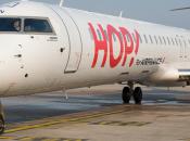 Hop! ferme ligne aérienne Clermont-Nice