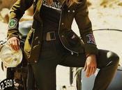 Kate Moss Clément Chabernaud plein désert pour campagne Matchless London...
