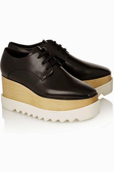 les chaussures du jour les richelieus stella mccartney voir. Black Bedroom Furniture Sets. Home Design Ideas