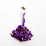 ART : Des robes de pétales et d'aquarelle