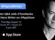 Hanx Writer, l'application signée Hanks
